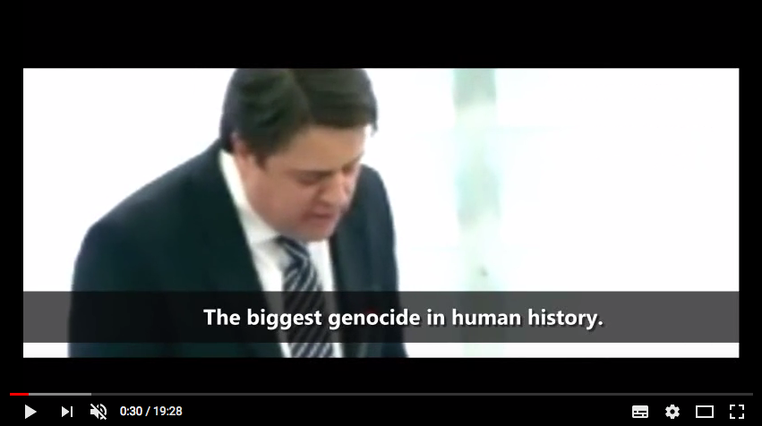 the biggest genocide
