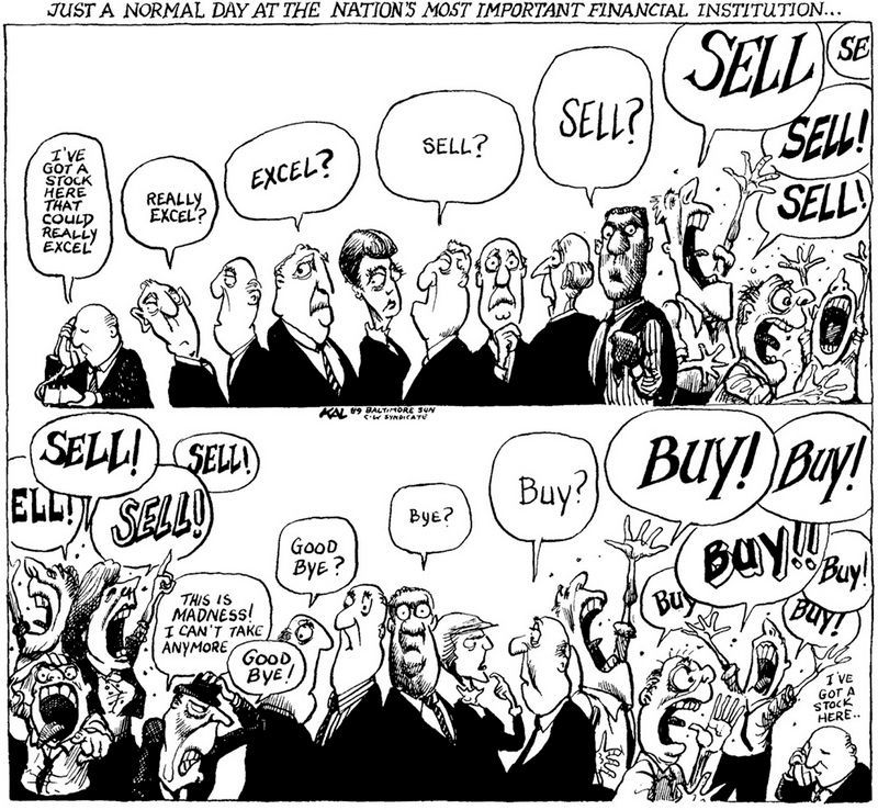 buy sell panic herds