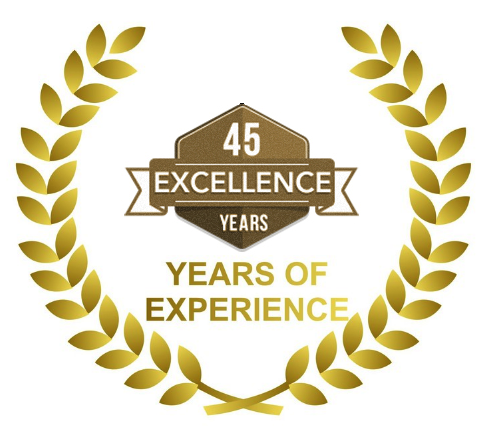 45 year of excellence