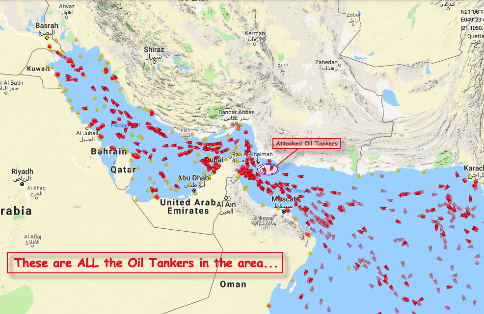 oil tankers in hormuz