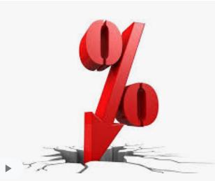 plunging interest rates