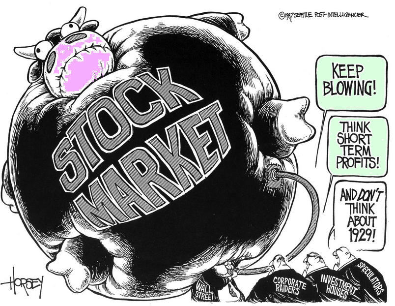stock market keep blowing