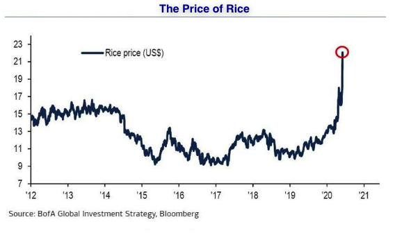 the price of rice 2020 06 07