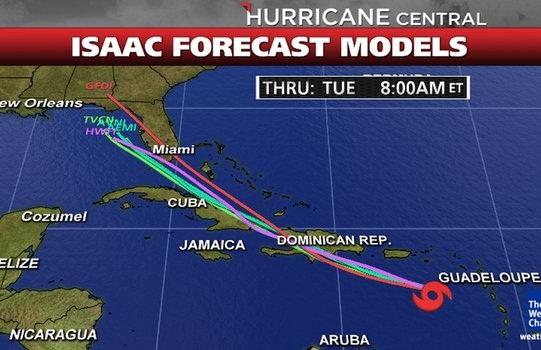 isaac hurricane
