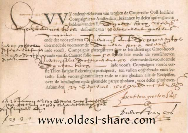 voc oldest share